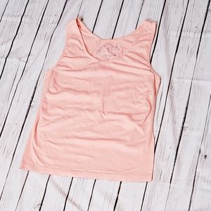 Cato Camisole Tank Top Size Xlarge xl Peach Solid